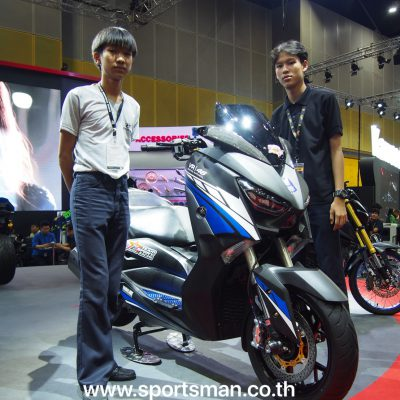 Triones corporated with K-Sports Racing Team in Big Motor Sale 2018 Bitech Bangna, Bangkok